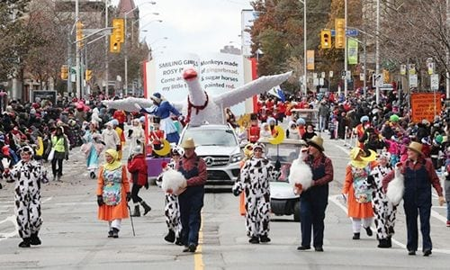 santa claus parade 2017 float
