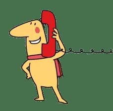 logo call mascot