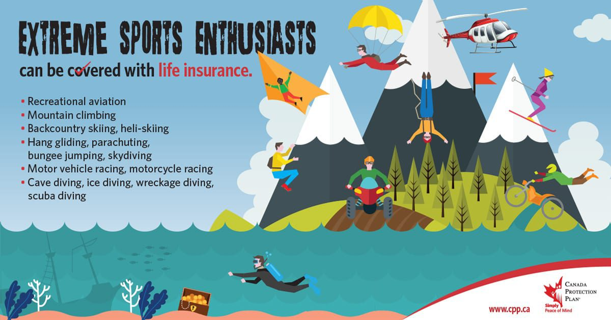 extreme sports life insurance