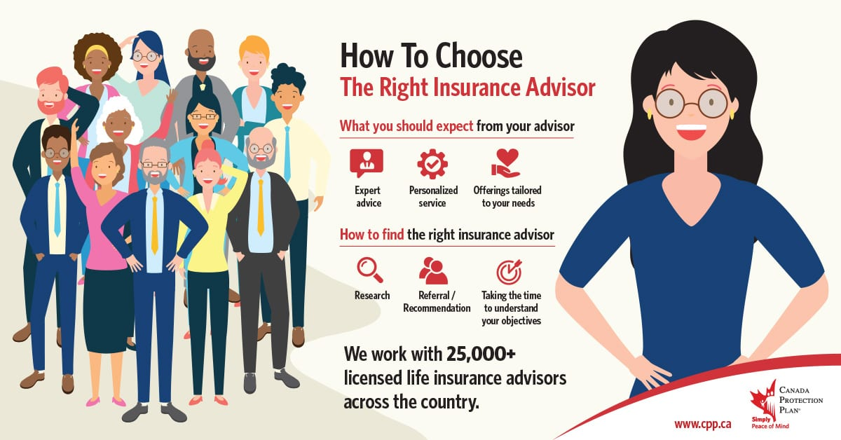 how to choose the right life Insurance advisor