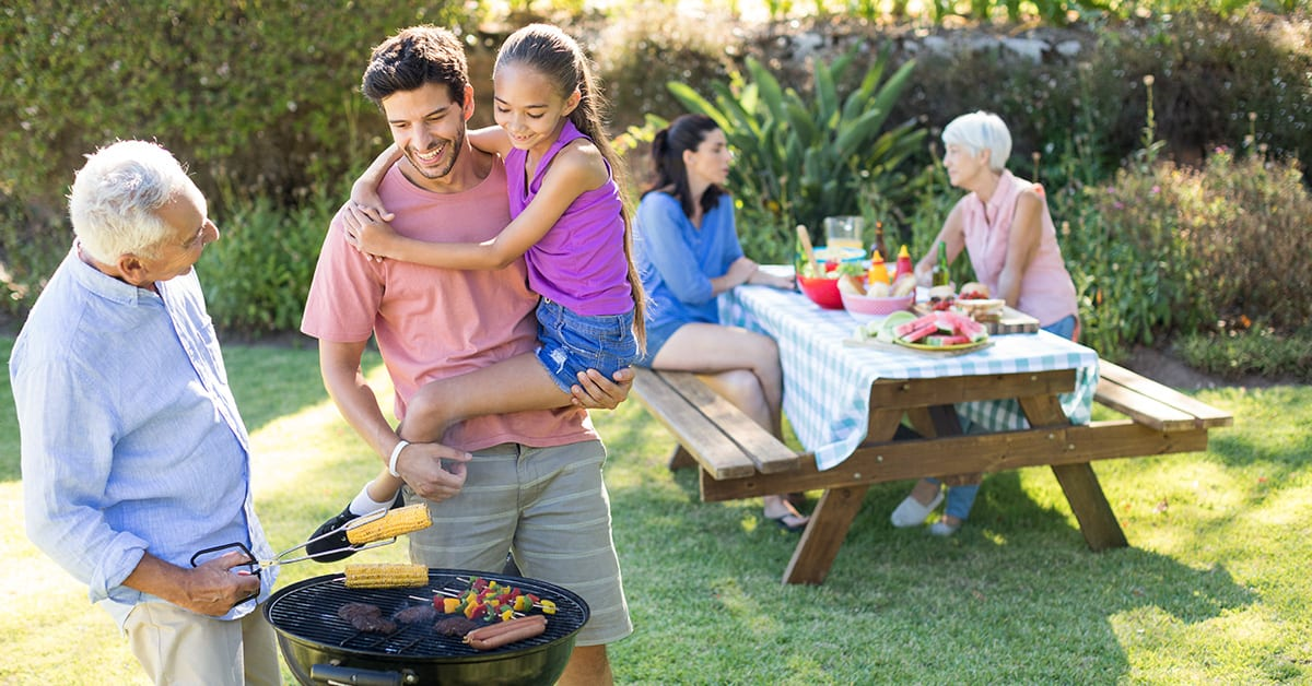 family summer days