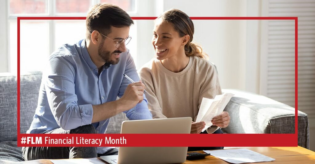 get finances organized for financial literacy month